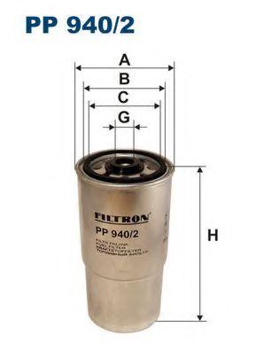 Топливный фильтр BOSCH арт. PP9402