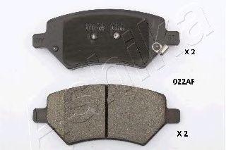 Комплект тормозных колодок, дисковый тормоз  арт. 5000022