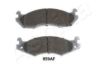Комплект тормозных колодок, дисковый тормоз  арт. 5000059