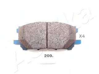 Колодка торм. LEXUS RX (пр-во ASHIKA)                                                                ASHIKA 5002209