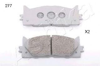 Комплект тормозных колодок, дисковый тормоз (пр-во ASHIKA)                                           LPR арт. 5002277