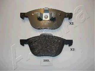 Колодка торм. MAZDA 3 (пр-во ASHIKA)                                                                 ABS арт. 5003300
