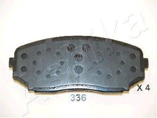 Колодка торм. дисковый тормоз (пр-во ASHIKA)                                                         LPR арт. 5003336