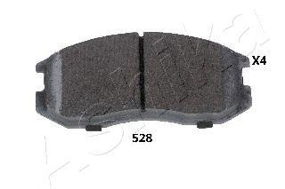 Колодка торм. DAIHATSU TERIOS (пр-во ASHIKA)                                                         ASHIKA 5005528