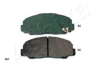 Комплект тормозных колодок, дисковый тормоз  арт. 5006607