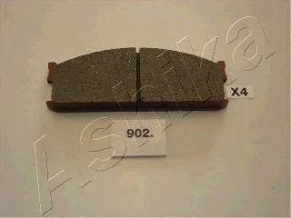 Комплект тормозных колодок, дисковый тормоз (пр-во ASHIKA)                                            арт. 5009902