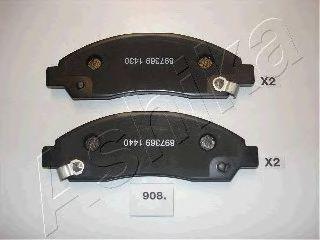 Комплект тормозных колодок, дисковый тормоз  арт. 5009908