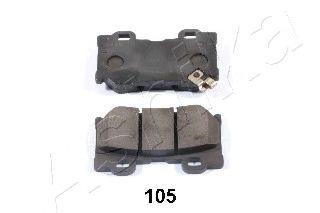 Колодка торм. Infiniti QX70/FX; Q60; G35/37 (пр-во ASHIKA)                                           ASHIKA 5101105