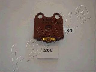 Колодка торм. LEXUS GS (пр-во ASHIKA)                                                                ASHIKA 5102260