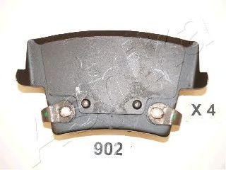 Комплект тормозных колодок, дисковый тормоз (пр-во ASHIKA)                                            арт. 5109902