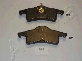 Комплект тормозных колодок, дисковый тормоз (пр-во ASHIKA)                                            арт. 5109992