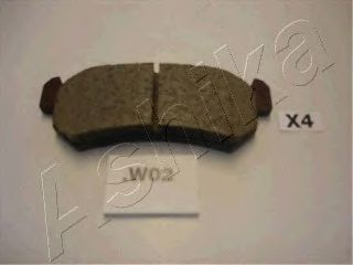 Колодка торм. CHEVROLET LACETTI (пр-во ASHIKA)                                                       ASHIKA 510WW02