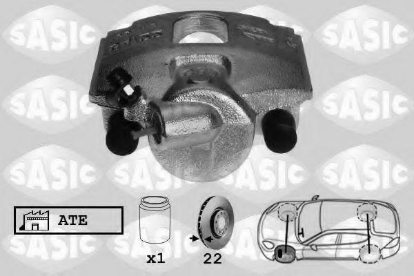 Тормозной суппорт  арт. 6506108