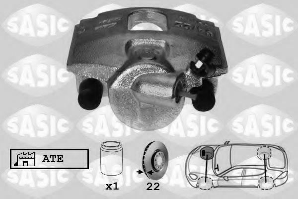 Тормозной суппорт  арт. 6506109
