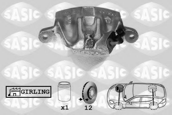 Тормозной суппорт  арт. SCA6039