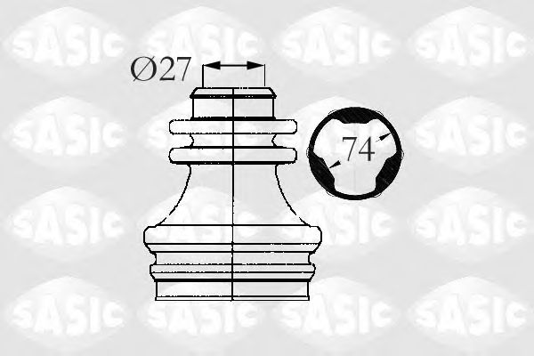 4003472   SASIC - Пильовик привідного валу SASIC арт. 4003472