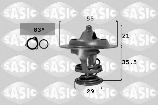 Термостат SASIC 3381231