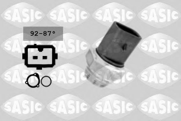 Термовыключатель, вентилятор радиатора  арт. 9000209