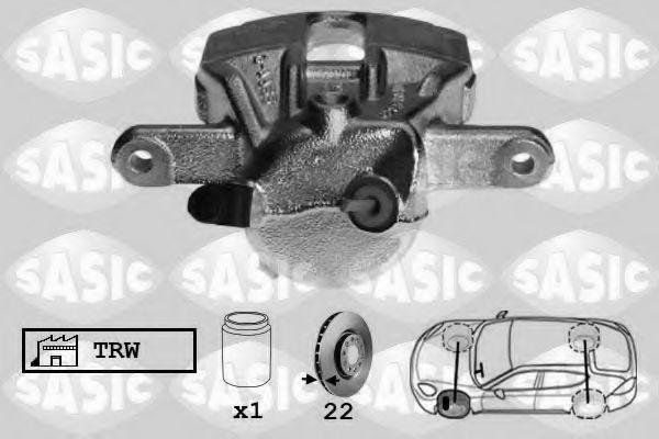 Тормозной суппорт  арт. 6504010