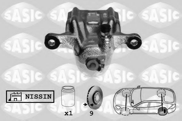 Тормозной суппорт  арт. 6506142