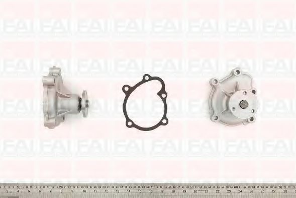 Водяна помпа Opel Astra G/H/Combo/Corsa C 1.7DTI/CDTI 00- FAIAUTOPARTS WP6381