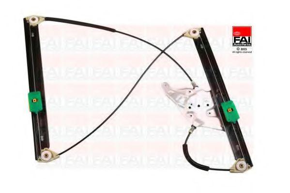 Склопідіймач електричний передній правий (без двигуна) VAG A6/Avant(C5) 97- FAIAUTOPARTS WR010