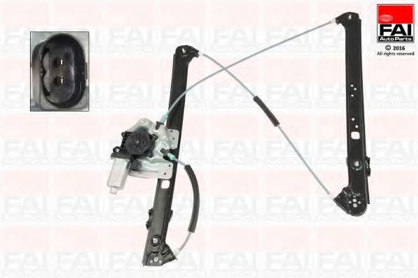 Склопідіймач електричний передній правий (з двигуном) BMW X5(E53) FAIAUTOPARTS WR028M