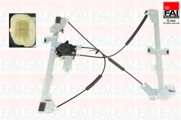 Склопідіймач електричний передній правий (з двигуном) PSA Berlingo/Partner 96- FAIAUTOPARTS WR032M