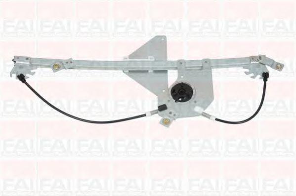 Склопідіймач електричний передній лівий (без двигуна) PSA Berlingo/Partner 08- FAIAUTOPARTS WR033