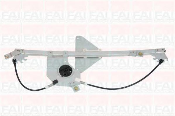 Склопідіймач електричний передній правий (без двигуна) PSA Berlingo/Partner 08- FAIAUTOPARTS WR034