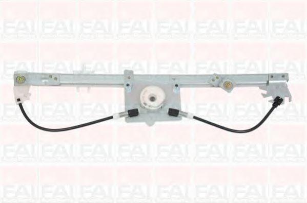Склопідіймач електричний передній лівий (без двигуна) Fiat Fiorino/Citroen Nemo 2008- FAIAUTOPARTS WR051