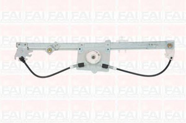 Склопідіймач електричний передній правий (без двигуна) Fiat Fiorino/Citroen Nemo 2008- FAIAUTOPARTS WR052
