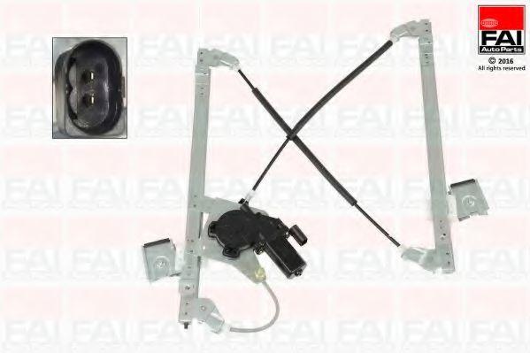 Склопідіймач електричний передній правий (з двигуном) Ford Focus 98- FAIAUTOPARTS WR094M