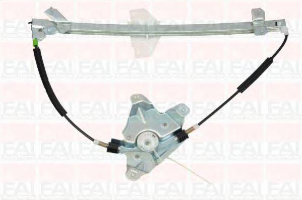 Склопідіймач електричний передній правий (без двигуна) Ford Connect 2002- FAIAUTOPARTS WR106
