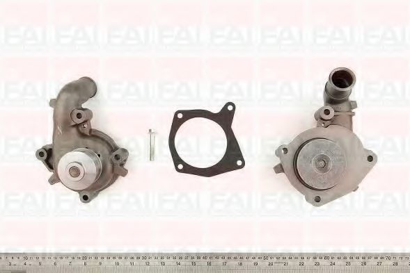 Водяна помпа Ford Escort/Orion 1.8D 90- FAIAUTOPARTS WP2673