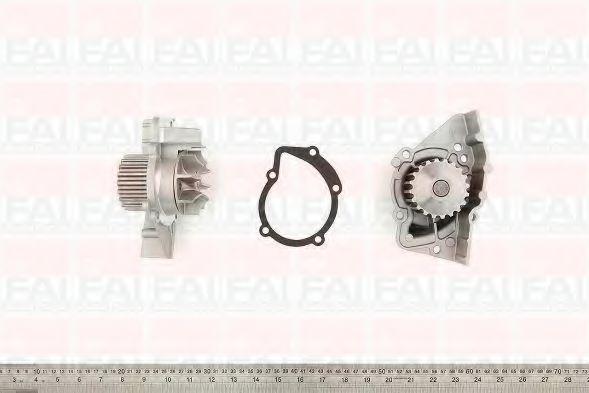 Водяна помпа Fiat Ducato 2.0i 94-/Citroen Berlingo 1.9-1.8D 96- FAIAUTOPARTS WP6083