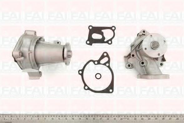 Водяна помпа Hyndai H1,Terracan 2.5CRDI,2.5TDI 16V 01.07-,06.06-/ Mitsubishi Pajero Sport 2.5TD 98-/ Mitsubishi L200 (K6/7) 2.5TD  FAIAUTOPARTS WP6202