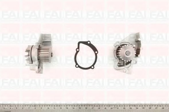 Водяна помпа Fiat/PSA 1.9D/2.0Hdi 1997- FAIAUTOPARTS WP6242