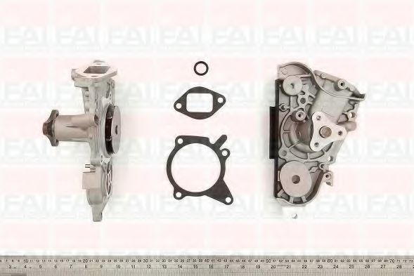 Водяна помпа Mazda 323 1,5 FAIAUTOPARTS WP6302