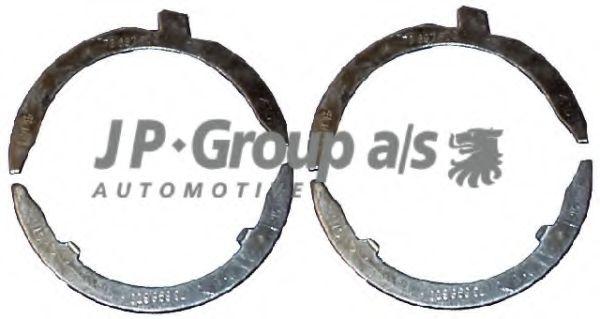 JP GROUP VW Вкладыши разбега к/вала STD 1,9D/TD (4п/кольца) JPGROUP 1110450510