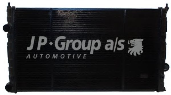 JP GROUP VW Радиатор охлаждения (медь) Golf III 1.9D,TD 91- JPGROUP 1114203500