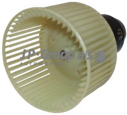 JP GROUP AUDI Электродвигатель вентилятора салона AUDI 100 82-90 150mm JPGROUP 1126100600