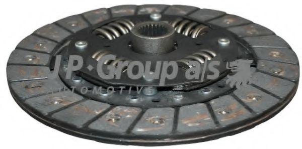 JP GROUP VW Диск сцепления VENTO 1.4 95- 200mm JPGROUP 1130200400