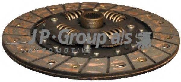 JP GROUP VW Диск сцепления 210мм 1,6D/TD/1,9D/TD Golf,Jetta, SEAT (z=24) JPGROUP 1130201500