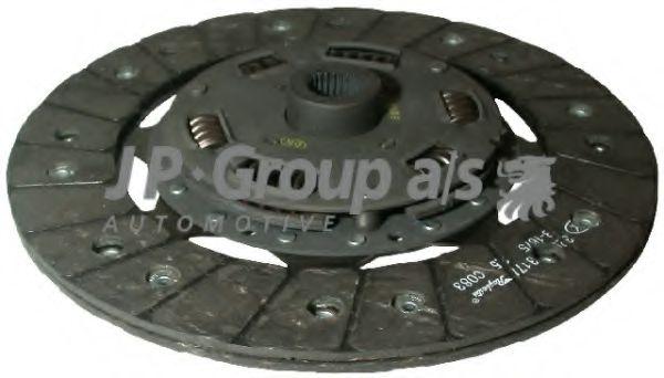 JP GROUP VW Диск сцепления 1,8/2,0/2.4D/1,9TDI Golf/Vento, Passat, T4 (228мм) JPGROUP 1130201800