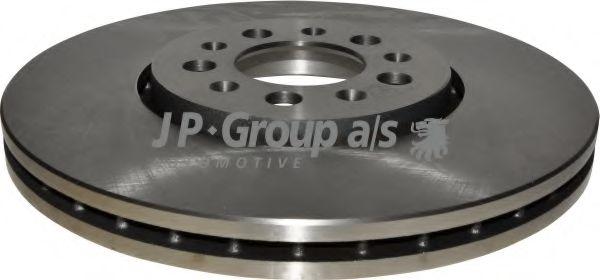JP GROUP VW Диск тормозной перед. (вентил.) AUDI A3; VW Golf 4, Polo 01-; SEAT; JPGROUP 1163101000