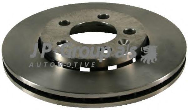 JP GROUP VW Диск тормозной вентилируемый передний A3 1.6I GOLF IV 1.4I16V 1.9SDI JPGROUP 1163101100