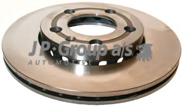 JP GROUP VW Диск тормозной перед. (вентил.) Polo 01-; Skoda Fabia JPGROUP 1163104100