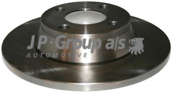 JP GROUP AUDI Диск тормозной передний 80 91- JPGROUP 1163105600