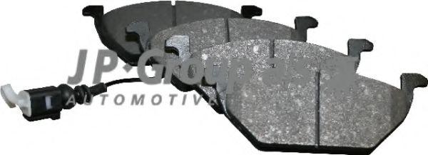 Комплект тормозных колодок, дисковый тормоз JP GROUP арт. 1163601010